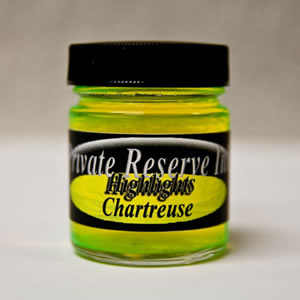 Private Reserve Ink® Chartreuse Highliter Bottled Ink [50mL].....last in this bottle size