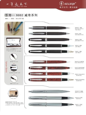 9802 Rollerball Pen Collection by SZ Leqi® Paris......end of the line sale!