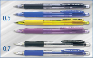 Schneider® Black Mechanical Pencil 552 Series [0.5 mm lead]....special sale!