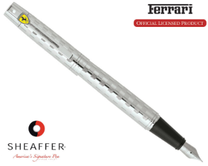 Ferrari 300 Checkered Chrome Fountain Pen by Sheaffer®