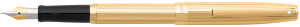 Sagaris Fluted Gold Tone Cap & Barrel Fountain Pen by Sheaffer®