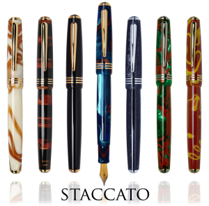 Staccato Honey Bee Rollerball Pen by Taccia®....end of the line sale!