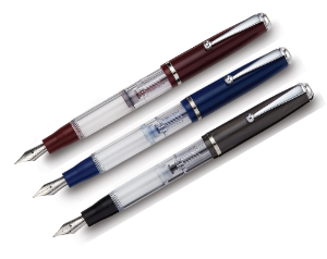 Splash Piston Fountain Pen Series by Stipula®