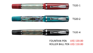 Classic Pearl Fountain Pen Series by Laban®
