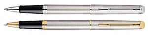 Hemisphere Stainless Steel Rollerball Pen Collection by Waterman®