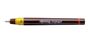 Isograph Pen .35 mm from rOtring® Writing Instruments