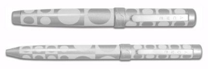 "Acme® ""Geometri-White"" Ballpoint and Rollerball Set design by Vernor Panton"