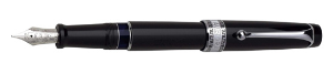 Optima Resin Black CPT Fountain Pens by Aurora®