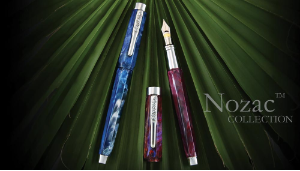 Nozac Piston Fill Fountain Pen Series by Conklin®