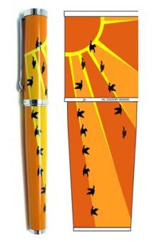 Soar! Rollerball Pen by Jac Zagoory Designs