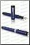 Duofold Classic Blue and Black CT Centennial Fountain Pens by Parker®