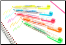 Preppy Highlighter Pens from Platinum®....fluorescent colors!