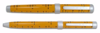 "ACME Studio® ""Dots-Yellow"" Ballpoint & Rollerball set design by Charles & Ray Eames"