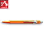 844 Fluorescent Orange Mechanical Pencil by Caran d'Ache