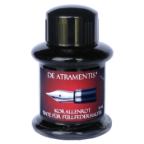 Coral Red Premium Fountain Pen Bottled Ink by De Atramentis®