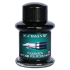 Turquoise Green Premium Fountain Pen Bottled Ink by De Atramentis®