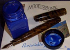 Periwinkle 1 oz bottled ink by Noodler's Ink® [Eternal series]