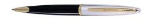 Carene Deluxe Black GT Ballpoint Pen by Waterman®