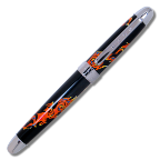 "Acme® ""Inner Mounting Flame"" Roller Ball Pen-design by John McLaughlin"
