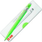 849 Pop Line Fluo Green [Yellow-Green] Ballpoint Pen by Caran d'Ache®
