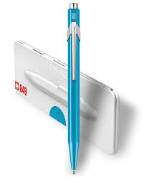 Caran d'Ache® 849 Pop Line Metal X Turquoise with Box