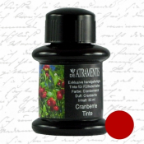 Cranberries Fruit Scented/Cranberry Red Premium Fountain Pen Bottled Ink by De Atramentis®