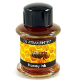 Honey Scented/Yellow Premium Bottled Ink by De Atramentis®