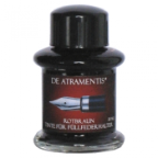Red Brown Premium Fountain Pen Bottled Ink by De Atramentis®