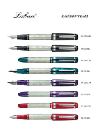 Rainbow Pearl Fountain Pen Series from Laban®