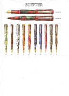Scepter Rollerball Pen Series by Laban®