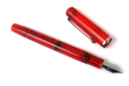 Ruby Red Konrad Flex Nib Fountain Pen by Noodler's Ink® [piston fill]