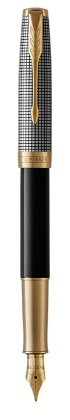 Sonnet Sterling Black and Silver GT Rollerball Pen Parker®