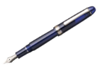 Platinum® #3776 Chartres Blue with Rhodium Trim Fountain Pen