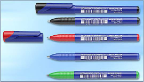 Topball 811 Refillable 0.5 mm Rollerball Pen by Schneider®.