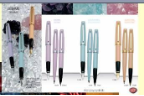 Gemstones Rollerball Pen Collection by Aurora®