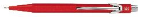 "Caran d'Ache® Classic ""844"" Metal Red Mechanical Pencil 0.7 mm"