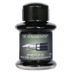 Cement Grey Premium Fountain Pen Bottled Ink by De Atramentis®