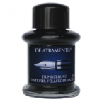 Dark Blue Premium Bottled Ink by De Atramentis ®