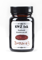 Brown #3 Handmade Fountain Pen Ink from KWZ Ink