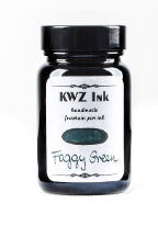 Foggy Green Handmade Fountain Pen Ink from KWZ Ink
