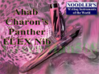 Charon's Panther Ahab Flex Nib Fountain Pen by Noodler's Ink® [piston fill]