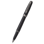 Sheaffer® Prelude Gloss Black Lacquer with Gun Metal Tone PVD Plated Trim Rollerball